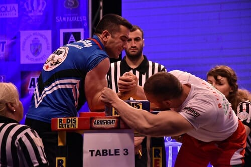 arm wrestling rules